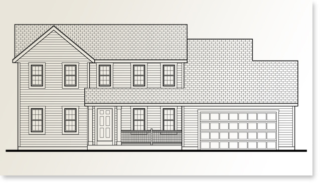 Heritage Standard home plan by Allan Builders