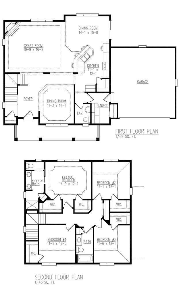 Fairfield floor plan
