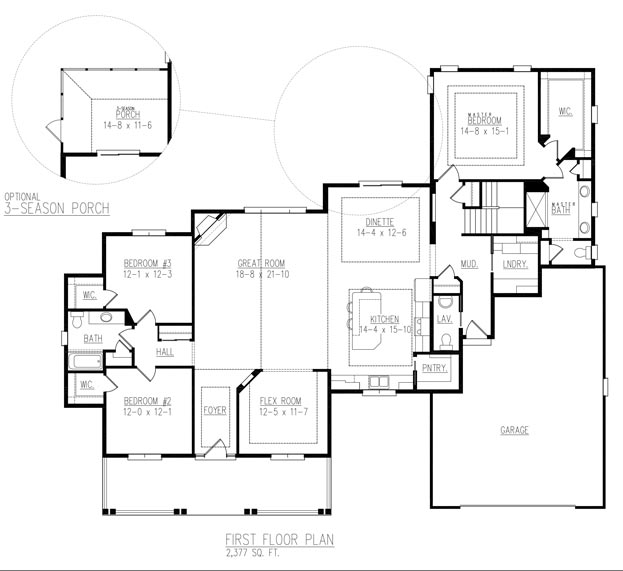Wentworth floor plan