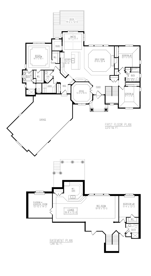 Charleston Model floor plan - Sandhill Trails - Cedarburg - W49 N8108 Tanager Court - By Allan Builders - Affordable Home Builders - Milwaukee, Wisconsin